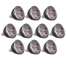 Lot10 New MR16 4W 360LM LED Spot Light Down Lamp White Light Energy Saving 12V