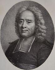 ROLLIN . Portrait, lithographie de 1821,