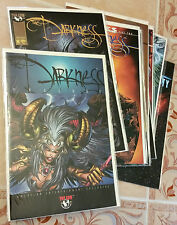 Darkness *Nm* Comics *Prelude* #8 9 10 11 12 13 14 15 & Infinity #1 Witchblade