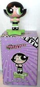 Warner Brothers POWERPUFF GIRLS BUTTERCUP BOBBLE HEAD Cartoon Network 2000