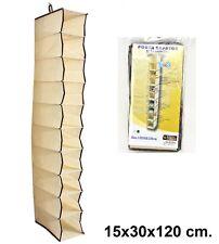 Organizadores de armarios para el hogar ebay - Zapatero de tela para colgar ...