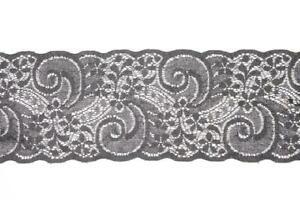 Guipure Lace Divider Of Raschel Flex High 3 1/2in SWEET TRIMS Art. 1840