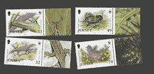 Jersey 2004 Bird/Reptile/Insects/WWF 4v set (n12438)