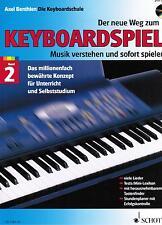 Keyboard Noten Schule : Der neue Weg zum Keyboardspiel 2  mit CD  - B-WARE