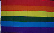 HUGE 4 x 6 ft GAY & LESBIAN PRIDE RAINBOW FLAG better quality usa seller