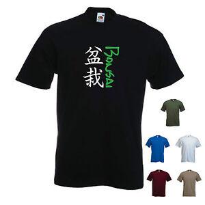 'Bonsai'  T-shirt Tee Zen Japan Topiary Tee
