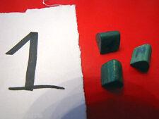 3 casette verdi del monopoli gioco vintage case house houses numerate a penna