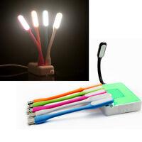 Schön Biegbar USB LED Lampe für Laptop Powerbank Notebook Licht Leuchte schwarz