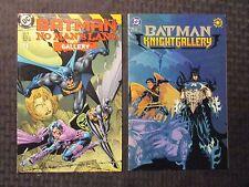 1992-99 BATMAN Gallery #1 NM- 9.2 Dark Knight / No Man's Land LOT of 4