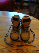 VASQUE GORE-TEX HIKING BACKPACKING BOOTS BOYS MEN'S SIZE 6 1/2 LEATHER CANVAS