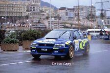 Colin McRae Subaru Impreza WRC 97 Monte Carlo Rally 1997 Photograph 1