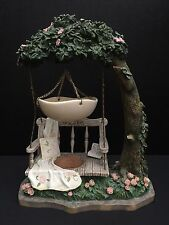 Yankee Candle Tart Warmer Burner Tree Swing Hanging Country