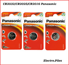 Piles/Cells boutons CR2032,CR2025,CR2016 Panasonic, Haute Performance