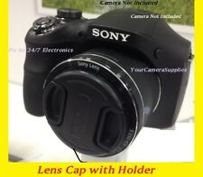 SNAP-ON FRONT LENS CAP DIRECTLY to CAMERA SONY Cyber-shot DSC-H200 DSCH200 H-200