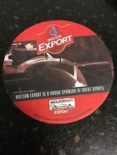 MOLSON EXPORT 2002 MOLSON INDY OFFICIAL UNUSED PROMO BEER COASTER TORONTO CANADA