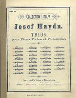 "HAYDN : "" KLAVIERTRIO Nr. 1 """