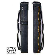 Delta 3x6 Yellow HUSTLER Case - Memory Foam - JB-NO Case - Leather Cue Case