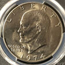 1974-D $1 Eisenhower Dollar PCGS MS66+            39077663