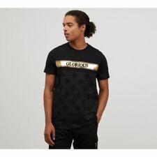 New listing Glorious Gangsta New Mens Short Sleeve Crew Neck T Shirt Top Axello Black Gold