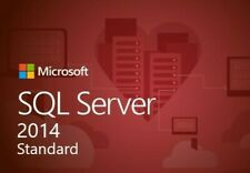 SQL Server 2014 Standard 20 cores Unlimited Cal product key/30 SEC DELIVERY