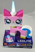 """LEGO The Movie 2 Unikitty 6"""" Tall LED Lite Torch! New"""