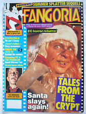 FANGORIA MAGAZINE #84 FRIDAY THE 13TH / GHOSTBUSTERS / TALES FROM THE CRYPT 1989