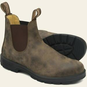 Blundstone Shoes Men & Women Boots All Sizes Rustic Brown Leather Original 585