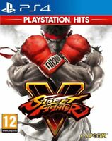 Street Fighter V PS4 Game (PlayStation Hits) (PS4 PLAYSTATION 4 VIDEO GAME) *NEW