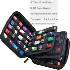 Electronic Accessories Storage organizer 36 USB Thumb Flash Pen Drive Memory SD