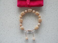 Lola Rose Very Light Peach Bracelet & Pink Lola Rose Pouch With Gift Card  NEW