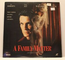 A Family Matter Laserdisc New and Sealed Eli Wallach