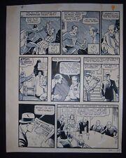 DC Original preliminary inks ALBERT DEGUZMAN for FAMOUS FIRST EDITION #61, pg 9