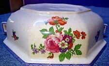 Vintage Royal DOULTON Floral Serving Dish