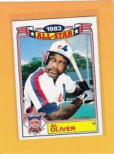 1984 TOPPS 83 ALL STAR BASEBALL AL OLIVER #13 EXPOS NMMT *64096
