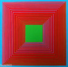 Richard ANUSZKIEWICZ Banner 1969 SIlkscreen Print Multiples