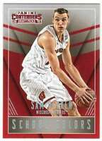2015-16 Panini Contenders Draft Picks School Colors #41 Sam Dekker