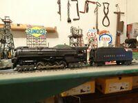 Lionel Postwar 2020 PRR Turbine Steam Loco & 2020W Tender ready for work !