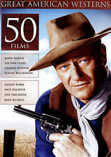 Great American Westerns: 50 Films (DVD, 2015, 3-Disc Set)