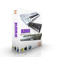 KORG TRIPLE PACK KORG O1W-FD / KORG X5-D / KORG Z1 FOR KONTAKT WAV SOUNDS