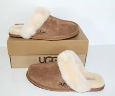UGG Australia 5661 Women Scuffette II Serein Suede Slippers Shoes Chestnut 5