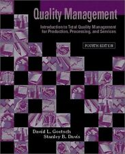 Quality Management: Introduction to Total Quality