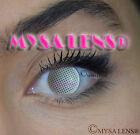 Crazy Coloured Contact Lenses Kontaktlinsen color contact lens White Mesh