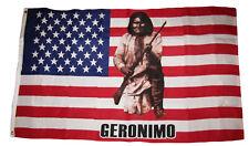 3x5 Geronimo Indian Native American USA Premium Quality Flag 3'x5' Banner