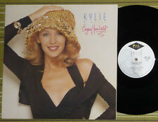 KYLIE MINOGUE, ENJOY YOURSELF, LP 1989 UK 1ST PRES A-1/B-1 EX/EX+, WITH INNER/SL