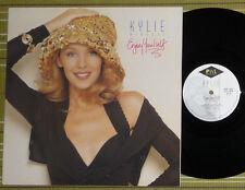 KYLIE MINOGUE, ENJOY YOURSELF, LP 1989 UK 1ST PRES A-1/B-1 EX/EX+, WITH INNER/SL