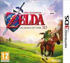 THE LEGEND OF ZELDA OCARINA OF TIME 3D NINTENDO 3DS V.G.C. COMPLETE 3DS 2DS
