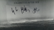 Sent Tracked SIGNED Clear Vinyl LP CIGARETTES AFTER SEX CRY