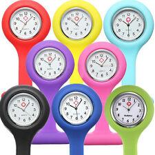 【OFERTA LIMITADA】6COLOR Reloj Enfermera Bolsillo Broche Silicona