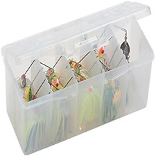 Best Spinner Bait Box with Removable Racks Fishing Storage Case Tackle Organizer
