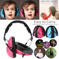 Foldable Ear Muffs Hearing Noise Reduction Protection Headphones Child Ear Safty